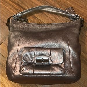 Bronze Coach Hobo Purse